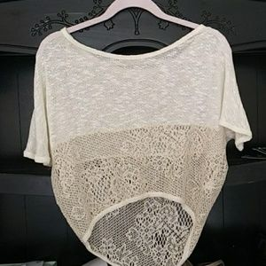 Gold and cream top
